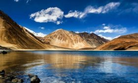 Tourism Department in Ladakh Union Territory has reopened Pangong Lake
