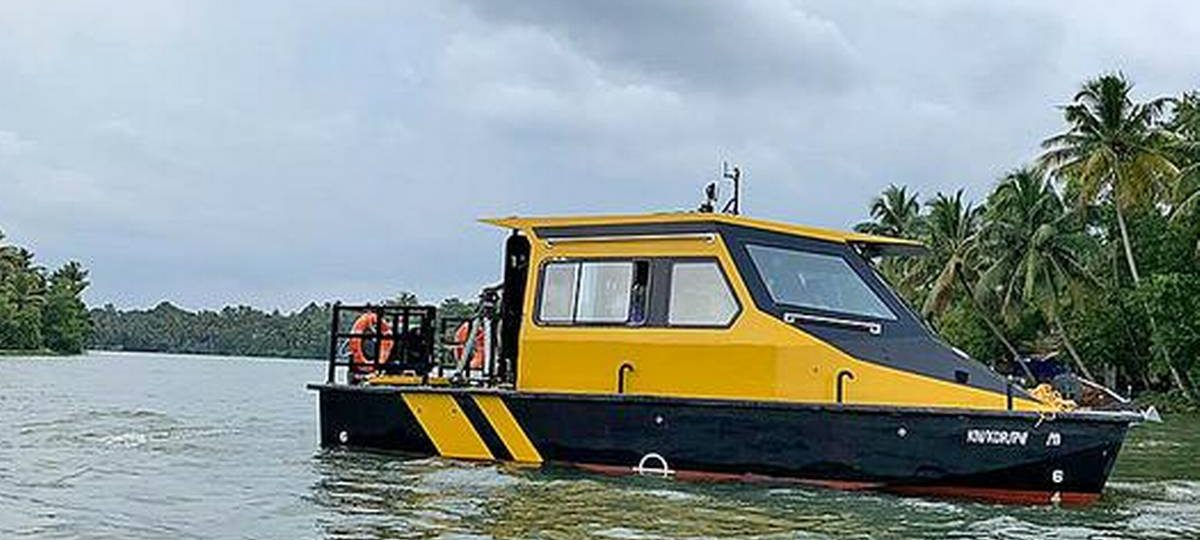 Kerala minister launches water taxi service