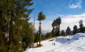 Snow-capped hills, adventure sports attract tourists to Himachal's Kufri