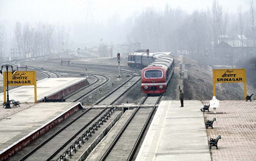 Train services resume in Kashmir after 11 months; 1,100 travel on first day