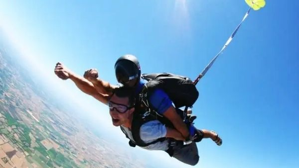 In a first for India, sky-diving & cockpit flying for adventurers starts in Neemrana